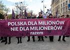 """""""Polska dla milionów, nie dla milionerów"""". Święto pracy na ulicach"""