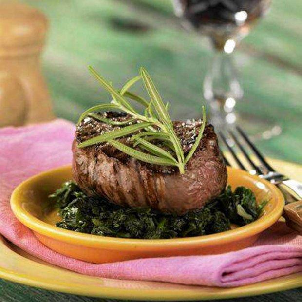Stek z pol�dwicy wo�owej