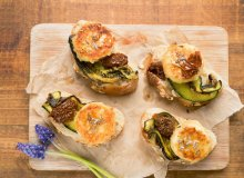 Prowansalskie tartinki z kozim serem i lawendą (na ciepło) - ugotuj
