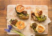 Prowansalskie tartinki z kozim serem i lawend� (na ciep�o)