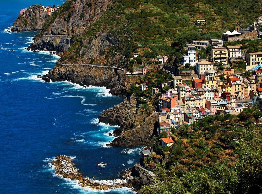 Riomaggiore, Cinque Terre, Włochy / fot. Shutterstock
