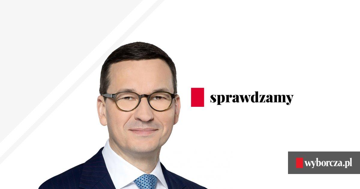 Sze�� p�prawd w wywiadzie premiera Morawieckiego [SPRAWDZAMY]