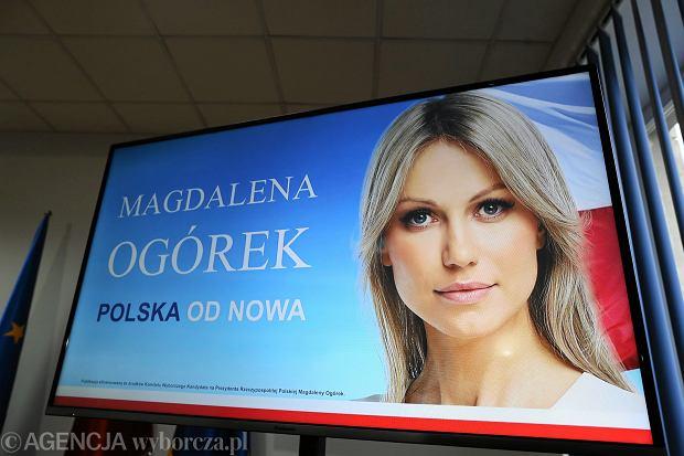 Wybory prezydenckie 2015. Magdalena Ogórek - gwóźdź do trumny SLD?