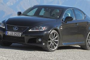 Lexus IS F na nowy sezon