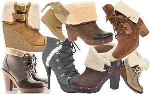ko�uch, botki, buty, botki z ko�uszkiem, obuwie na zim� 2011, na jesie� 2011