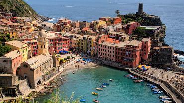 Włochy wczasy, Vernazza