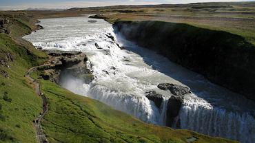 Islandia wycieczki, wodospad Gullfoss / Shutterstock