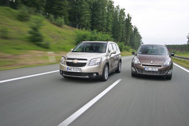 Chevrolet Orlando vs Renault Scenic