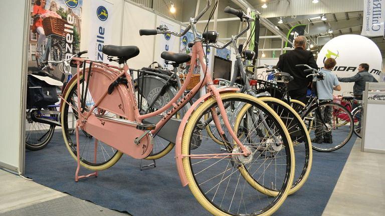 Stoisko z rowerami Gazelle na targach Rowery 2012