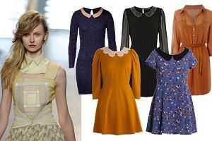 Sukienki z ko�nierzykiem - przegl�d