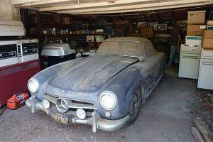 Mercedes 300 SL Gullwing, kt�ry sp�dzi� 40 lat w gara�u