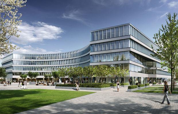 Zbuduj� biurowiec przy nowym placu w Wilanowie