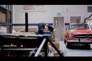 Miejsce, w kt�rym Mercedesy rodz� si� na nowo | Wideo