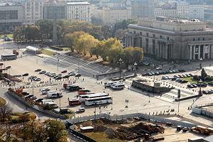 Plac Defilad w prywatne r�ce. Miasto oddaje 12 dzia�ek