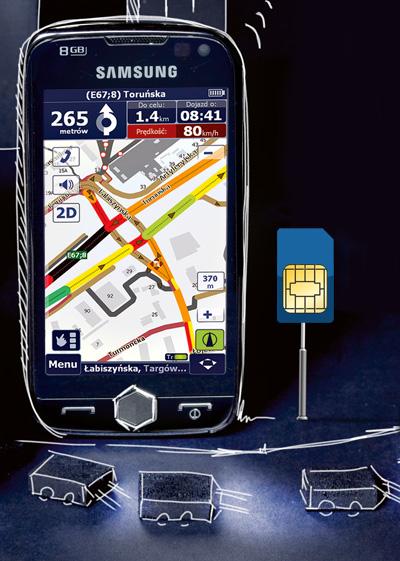 gsm, korki, tmc, nawigacja, test, AutoMapa Traffic ,Live Drive
