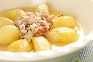 Ziemniaki berrichonne - duszone z bekonem