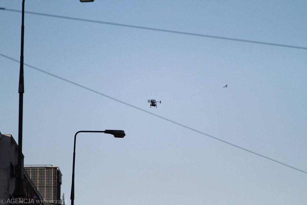 Robo Kopter nad Marszłkowską
