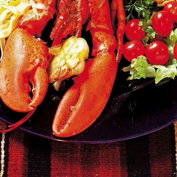 Aromatyczny duszony homar