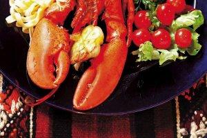 Kuchnia australijska homarami stoi