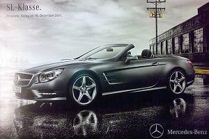Mercedes SL - zdjęcia z przecieku