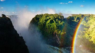 Najpiękniejsze miejsca na ziemi: Wodospad Wiktorii (Zimbabwe)