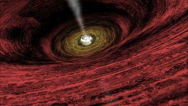 Czarna dziura we wczesnych latach istnienia wszechświata