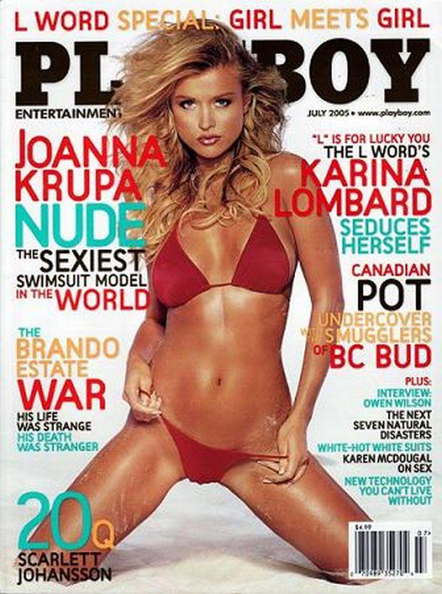 Joanna Krupa, okładka playboy