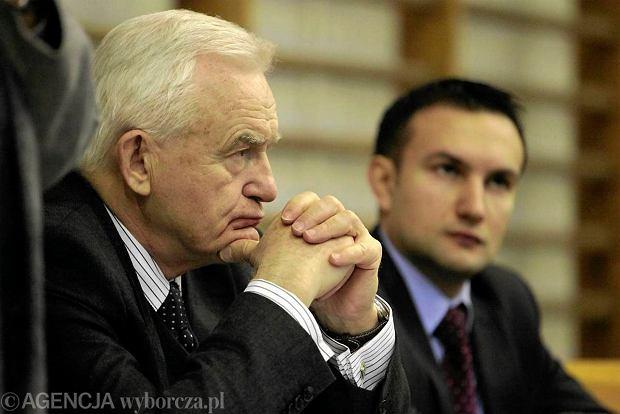 Leszek Miller i Tomasz Lewandowski