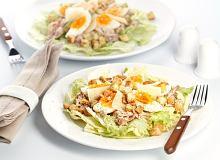 Sałatka Cezar z jajkiem - ugotuj