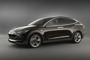 Skrzydlata Tesla Model X