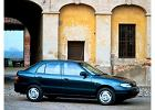 HYUNDAI Accent Hatchback 95-01, rok produkcji 1995, coupe, widok przedni prawy, samoch�d 5-drzwiowy, kolor niebieski jasny
