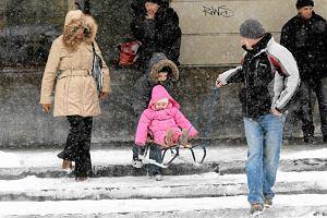 Przysz�a zima - pada �nieg, prawie w ca�ej Polsce mr�z
