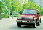 DAIHATSU Feroza, rok produkcji 1994, hardtop, widok przedni lewy, samoch�d 3-drzwiowy, kolor czerwony jasny