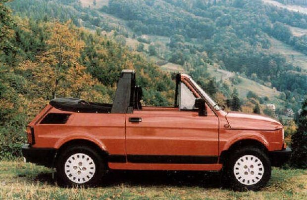 Maluch - historia nieznana, czyli specjalne wersje Fiata 126p, o których wiedzą tylko nieliczni
