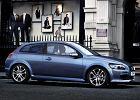 VOLVO C30 06-09, rok produkcji 2007, coupe, widok przedni prawy, samoch�d 3-drzwiowy, kolor niebieski jasny
