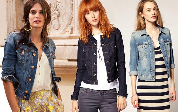 Jeansowe kurteczki - przegl�d