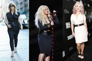 Kirstie Alley, Christina Aguilera, Kelly Osbourne.