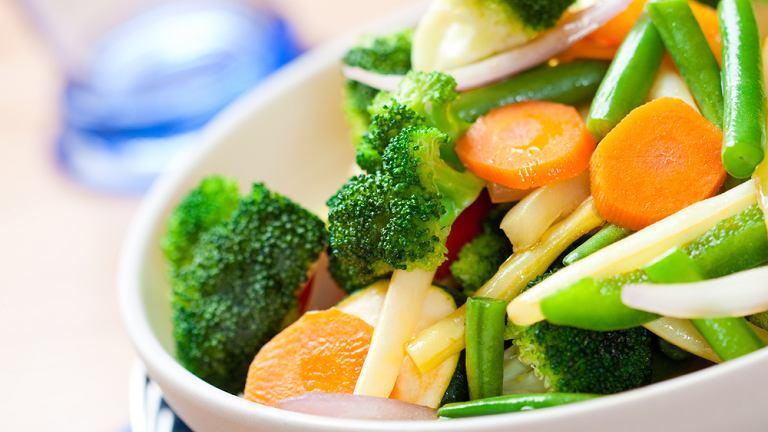 Warzywa to zdrowa i szybka przekąska