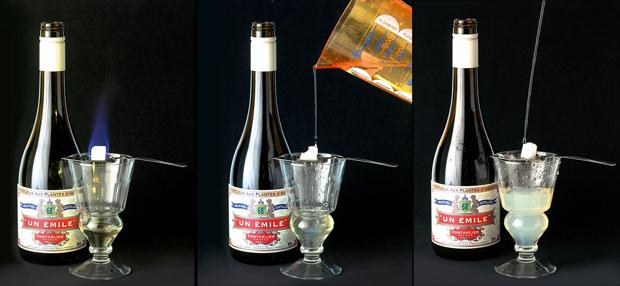 Absynt , alkohol
