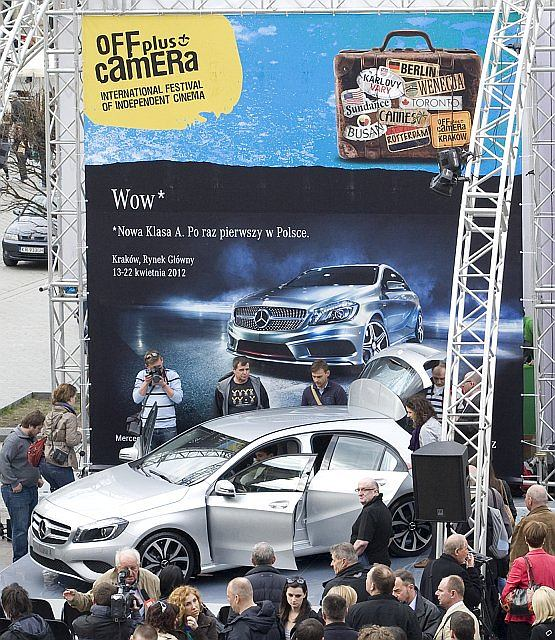 Mercedes A-klasa - polska premiera ju� dzi�