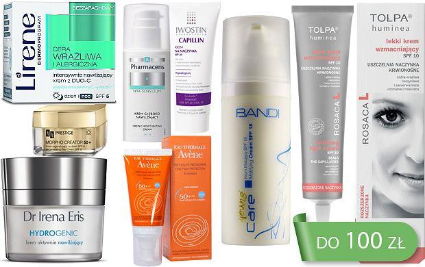 Najlepszy wyb�r: kremy do twarzy z filtrem UV do 100 z�