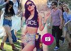 Gwiazdy w festiwalowym stylu na Coachella Music Festival - zobacz!