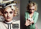 """Dakota Fanning w niesamowitej sesji w stylu vintage dla """"Wonderland"""" - zobacz zdj�cia"""