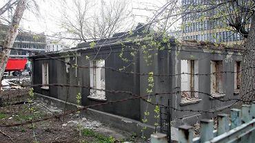 Rozbiórka dworku przy Grochowskiej