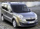OPEL Combo Euro5, rok produkcji 2012, kombi, widok przedni prawy, samoch�d 5-drzwiowy, kolor silver grey