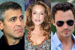 George Clooney, Alicja Bachleda-Curuś, Jan Wieczorkowski.