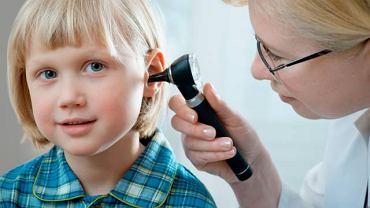 Ostre zapalenie ucha dotyka głównie dzieci