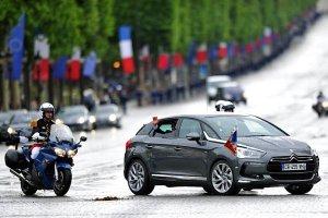 Zaskakuj�cy samoch�d nowego prezydenta Francji