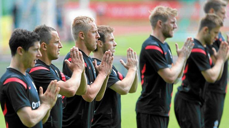 Kadra Polski trenuje przed Euro 2012