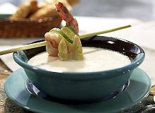 Zupa z krewetkami - ugotuj